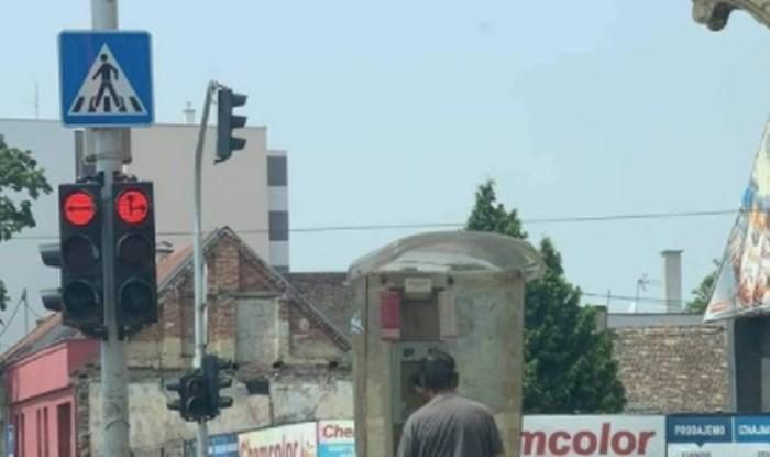 Tip iz Osijeka šokirao je ekipu na društvenim mrežama onime što radi u telefonskoj govornici