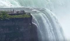 VIDEO Pogledajte što bi se dogodilo da upadnete u Nijagarine slapove