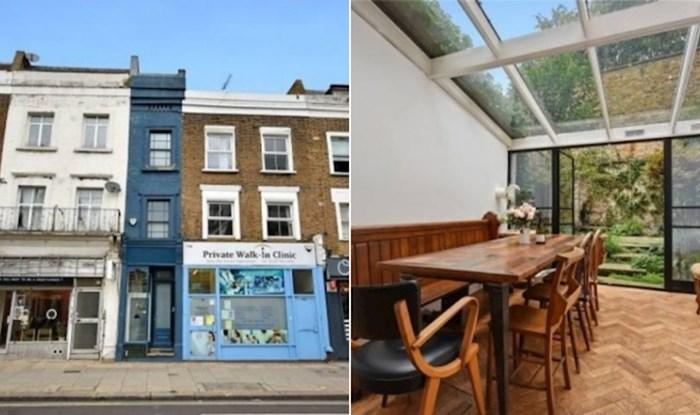 Najuža kuća u Londonu prodaje se za više od milijun dolara, zavirite u njezinu unutrašnjost