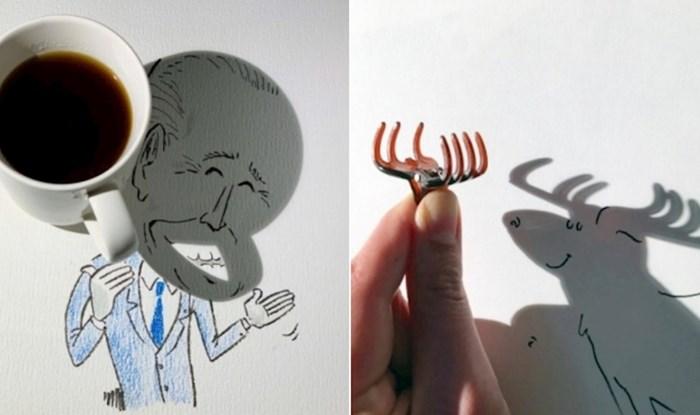 Umjetnik je postao Instagram senzacija zbog svojih duhovitih crteža koje stvara pomoću sjena