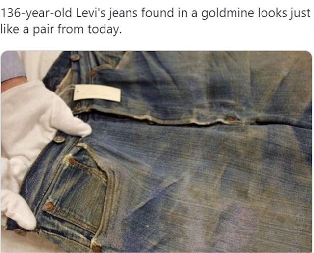 15. Par Levisica pronađen u rudniku zlata.