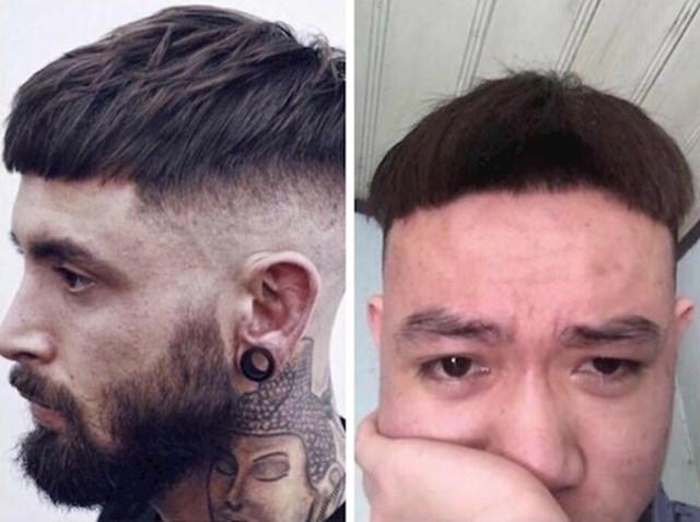 """8. """"Frizura koju sam htio i frizura koju sam dobio."""""""