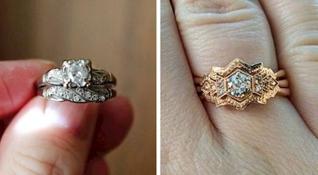 """1. """"Svekrva mi je poklonila zaručnički prsten svoje bake i rekla da ga uredim kako god želim."""""""