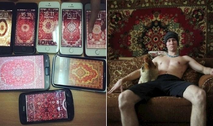 23 smiješne fotke na kojima se vidi koliko ekipa iz Rusije voli tepihe