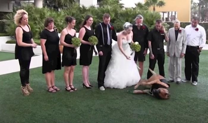 VIDEO 20 urnebesnih scena koje je kamera uhvatila na vjenčanjima