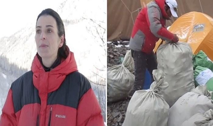 Alpinistica organzirala akciju čišćenja Mount Everesta; u 3 godine očistili 8 i pol tona smeća