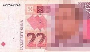 Hrvati umiru od smijeha na ovu fotomontažu, da postoji novčanica od 22 kune izgledala bi ovako