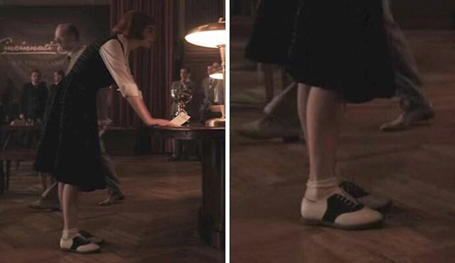 #4 Nakon što je osvojila prve novce od turnira, Beth je kupila nove cipele.