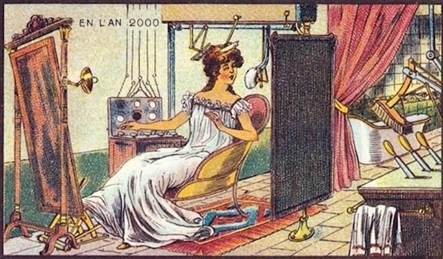 Ovoj ženi roboti sređuju frizuru. Mi ipak  još nismo ovako napredni.