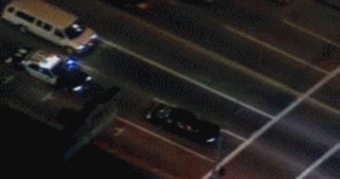 Kao iz filma: Morate vidjeti ovu urnebesnu policijsku potjeru