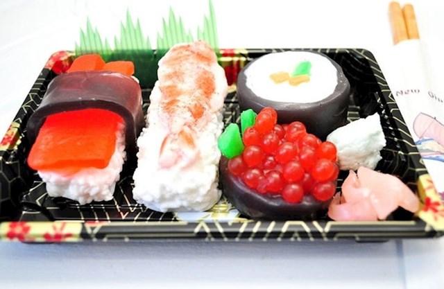10. Veganski sapuni u obliku sushija.