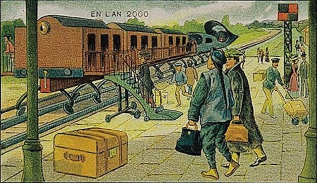 Evo i predviđanja električnog vlaka.