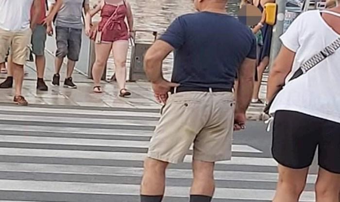 Prizor s pješačkog prijelaza u Zadru nasmijao je tisuće zbog detalja snimljenog u savršenom trenutku