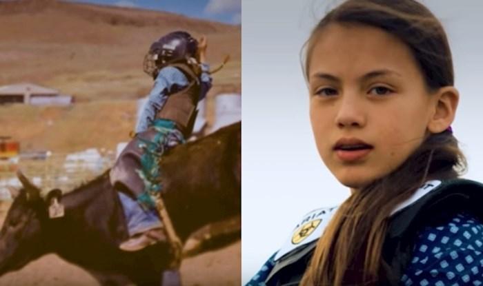 VIDEO Upoznajte neustrašivu 13-godišnju prvakinju u jahanju bikova