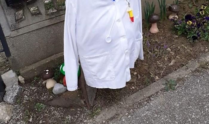 Inspiriran panikom oko koronavirusa, Zagrepčanin je prigodno uredio hidrant ispred svoje kuće