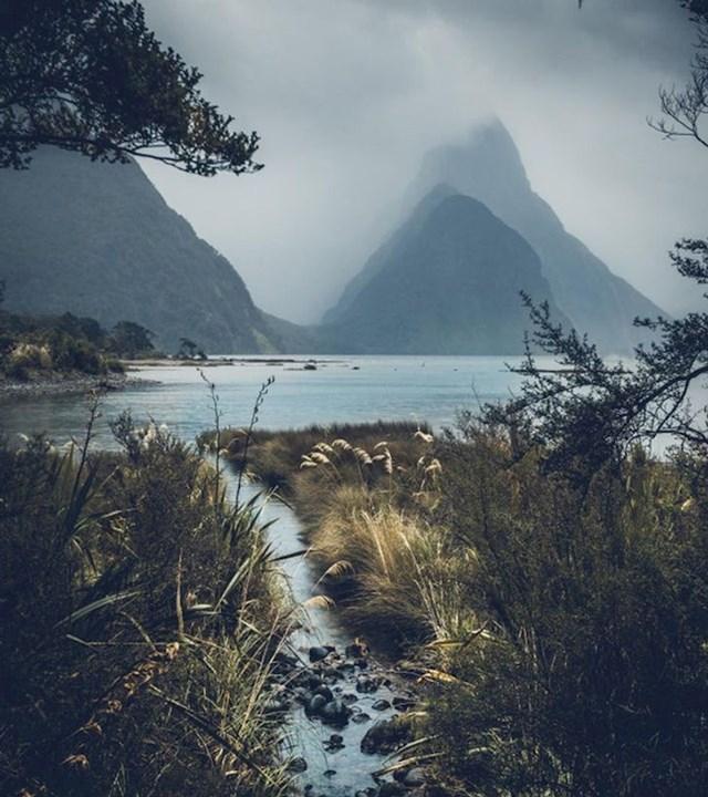 """""""Što je vrijeme gore, to krajolik izgleda bolje i mističnije. Ovo je na Novom Zelandu."""""""