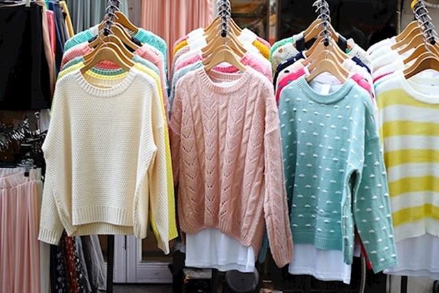 10. Kupujte rabljenu odjeću