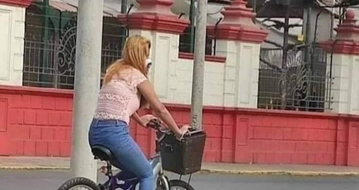 Slučajna prolaznica oduševila je ljude na Fejsu simpatičnim dodatkom na svojem biciklu