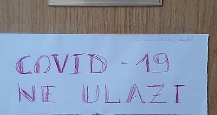 Natpis na jednim vratima u Dalmaciji oduševio je internet