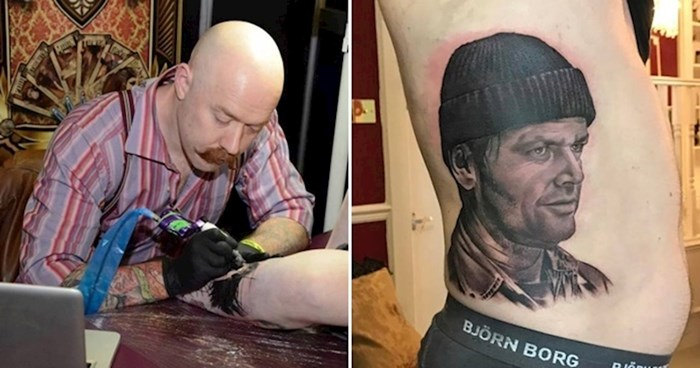 Tatoo artist koji izrađuje genijalne realistične tetovaže filmskih junaka osvojio je internet