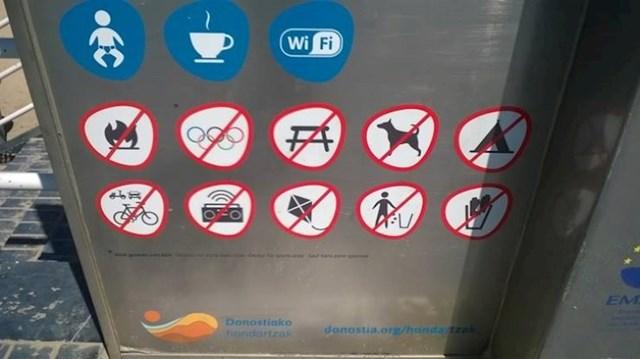 5. Na ovoj plaži u Baskiji sve je zabranjeno, pa i Olimpijske igre.
