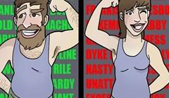 Duhoviti stripovi koji nas podsjećaju da živimo u društvu dvostrukih standarda