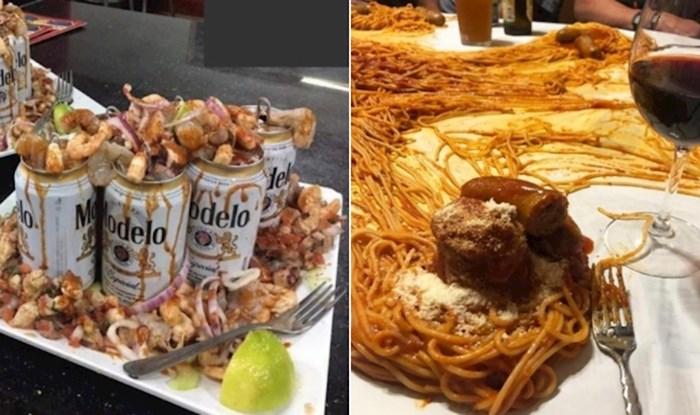 22 restorana koji su odbili koncept tanjura i poslužili gostima hranu na bizaran način