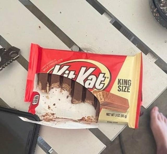 """5. """"Ovako moja sestra jede čokoladu"""""""