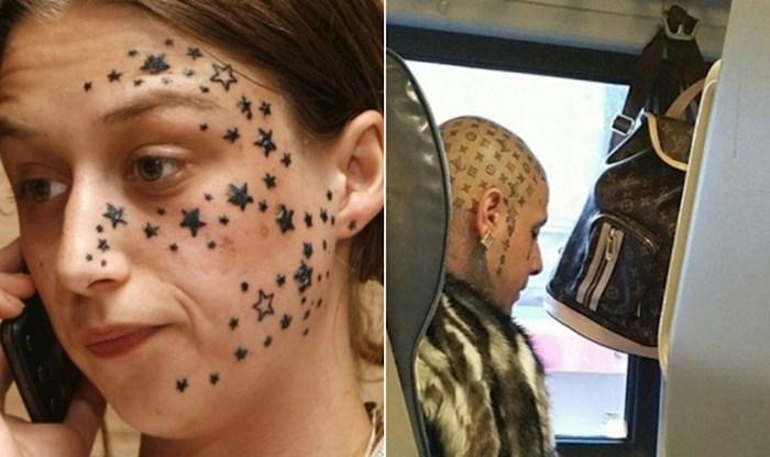 20 katastrofalnih tetovaža na licu koje je nemoguće razumjeti