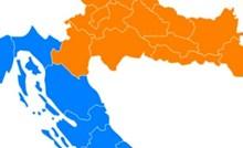 Morate vidjeti po kojem kriteriju je nekome palo na pamet podijeliti Hrvatsku, ovo je urnebesno
