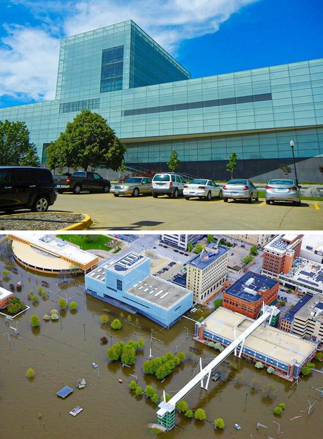 13. Rijeka Mississippi poplavila je cijeli jedan grad
