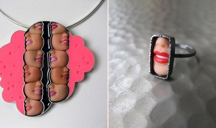 Dizajnerica od dijelova Barbie lutki izrađuje pomalo bizaran nakit koji nije za svačiji ukus