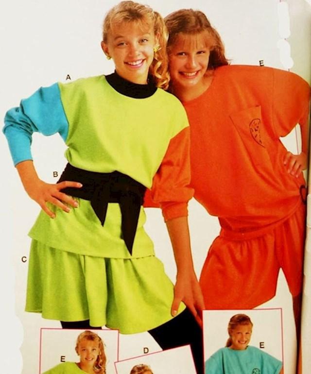 4. Predimenzionirani džemperi u neonskim bojama