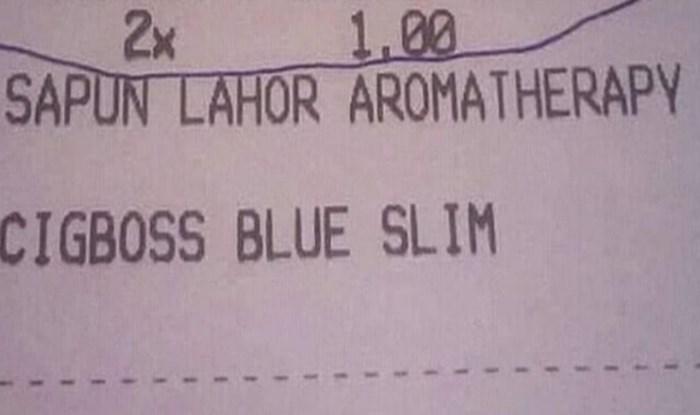 Kupac je prasnuo u smijeh i odmah podijelio urnebesan račun koji mu je izdala trgovina