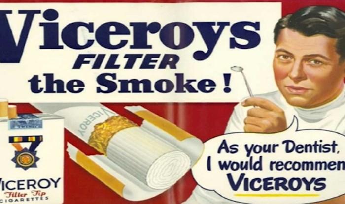 Nećete moći vjerovati kad vidite kako se nekad oglašavao duhan, evo 20 najčudnijih reklama