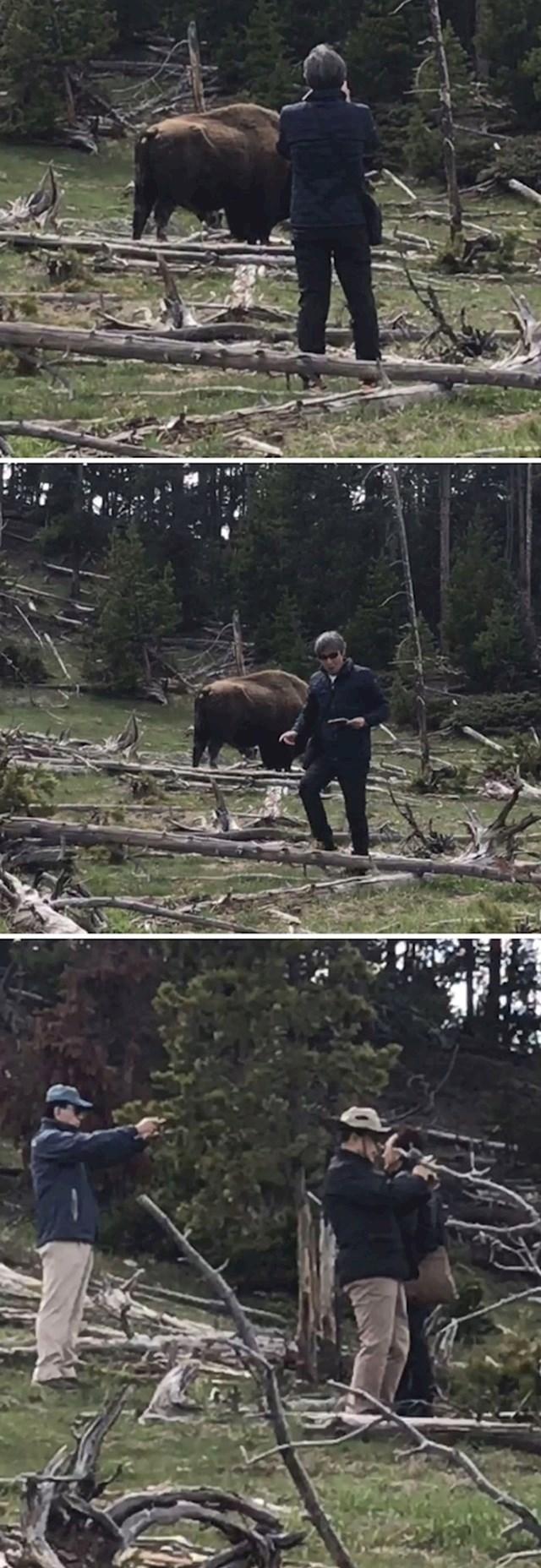 #21 Turisti rade neopisivo glupe stvari u Nacionalnom parku Yellowstone