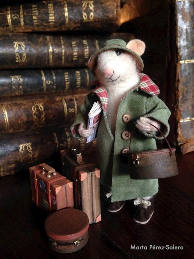 """""""Moja mama izrađuje figurice miševa i svaka od njih ima svoju priču."""""""