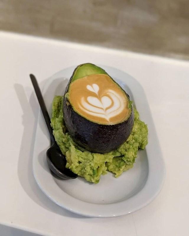5. Avokado kava