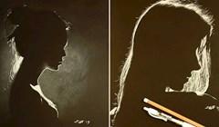 Umjetnik crta genijalne portrete žena koji izgledaju kao da su napravljeni od svjetlosti