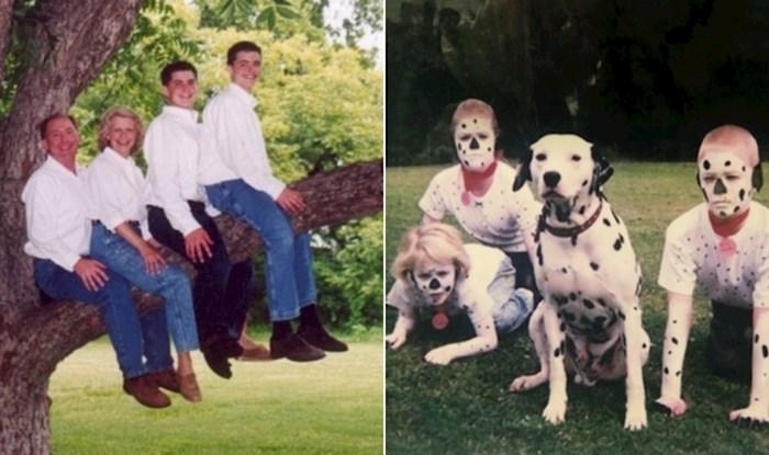 Morate vidjeti IG profil koji skuplja bizarne obiteljske fotke, ovo nije trebalo biti javno