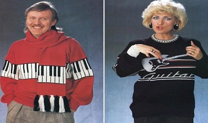 Katastrofalni džemperi iz 80-ih koje nećete tako lako zaboraviti