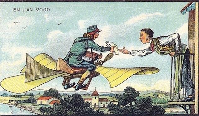 Leteći poštar.