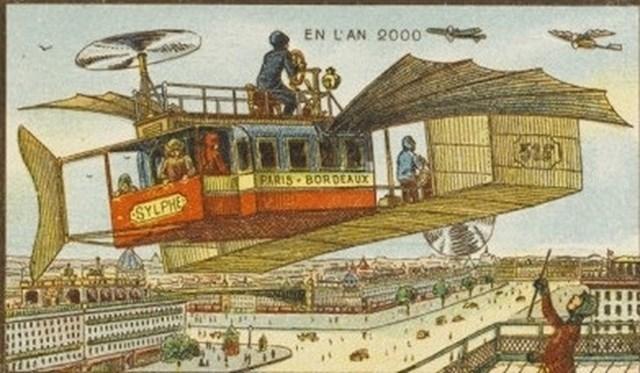 Leteći autobus u Francuskoj. Srećom, imamo avione.😁