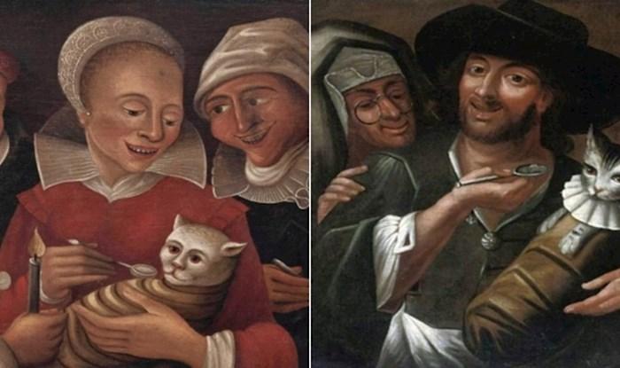 Ljudi su u srednjem vijeku obožavali hraniti mačke na žlicu, ovih čudnih 15 portreta to dokazuju