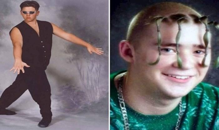 Bizarne fotke iz djetinjstva koje nisu trebale završiti na internetu