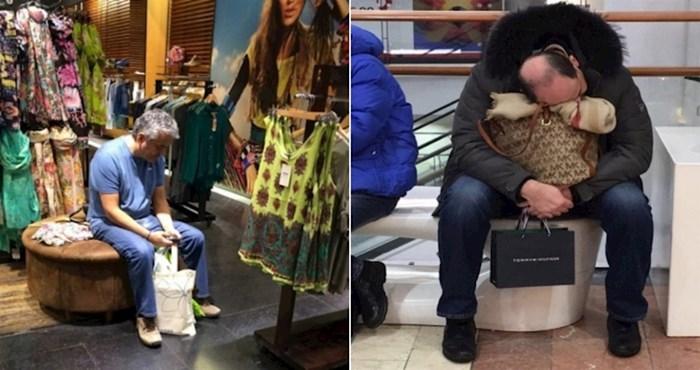 20 muškaraca koji očito ne uživaju u shoppingu