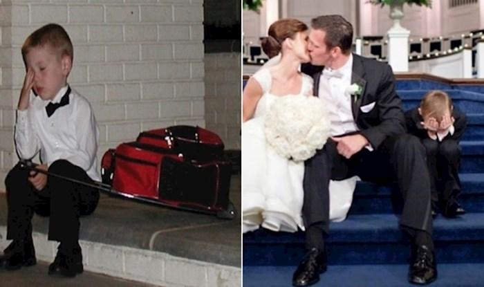 17 urnebesnih fotki djece koja nikako nisu htjela biti gosti na vjenčanju