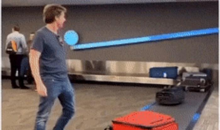 Tip je preuzeo kofer s pokretne trake na aerodromu, pa s njim napravio nešto što nitko nije očekivao