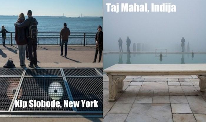 Fotograf prikazuje poznate turističke lokacije iz sasvim druge perspektive