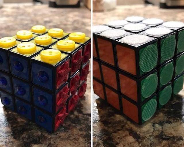 Rubikova kocka za slijepce.